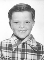 D.B. Johnson at age 7